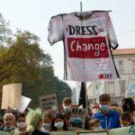 Milan Fashion Week: Prada deconstructs luxe evening wear