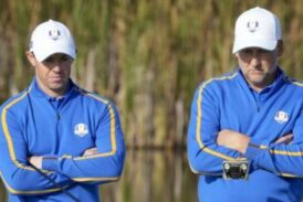 Ryder Cup: Harrington defends decision to leave McIlroy out of foursomes