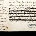 Marie Antoinette's censored letters decoded using X-rays